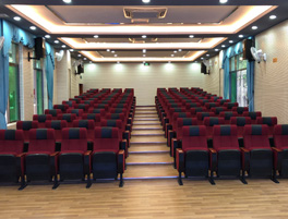 Auditorium chair of a school in Jieyang
